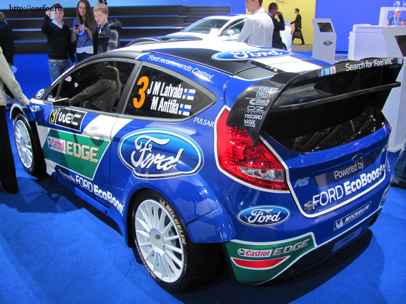 Ford WRC new 2012