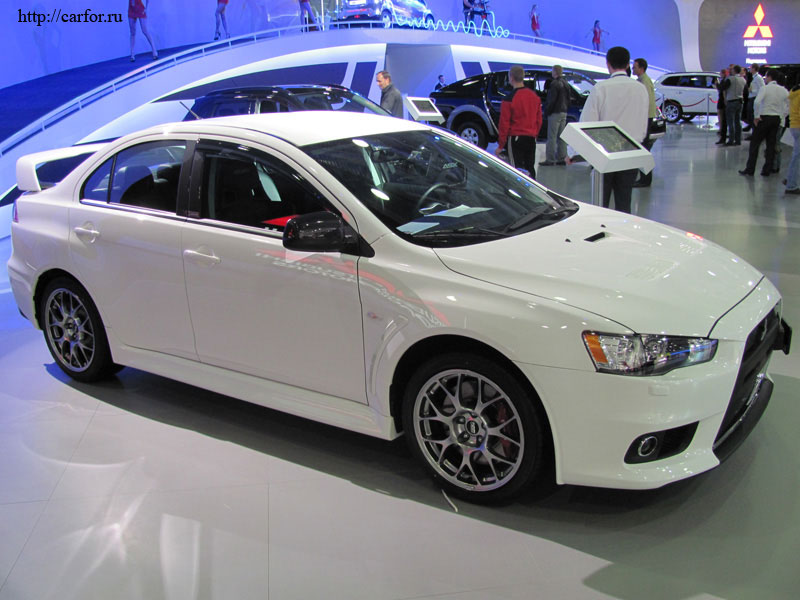 mitsubishi lancer evolution new 2012