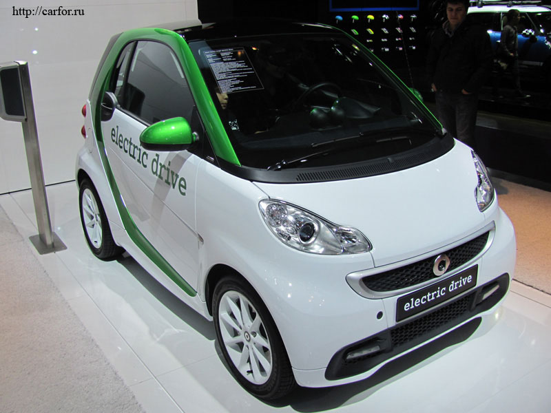 smart electric drive 2012