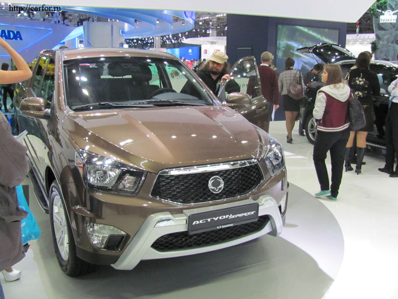 ssangyong actyon sports new