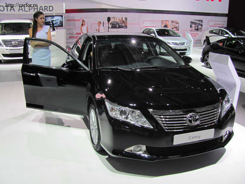 toyota camry new 2012