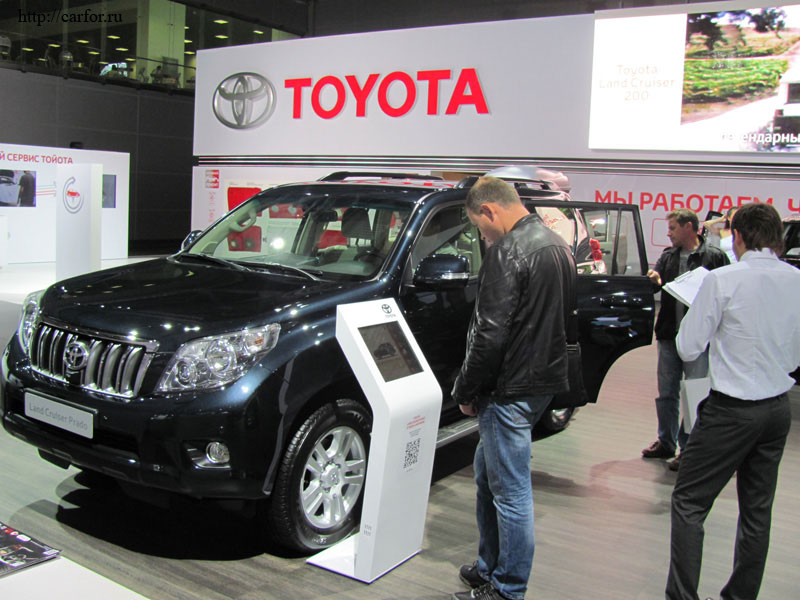 toyota land cruiser prado 2012 new