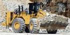 Caterpillar предоставила новый карьерный погрузчик Cat 992K High-Lift