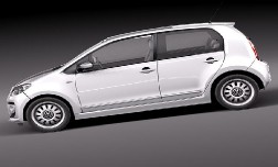 Новый Volkswagen up! 2013 года