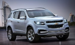 Новый Chevrolet Trailblazer 2013 года