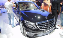 В Москве была продемонстрирована топ версия Mercedes-Benz S класса