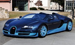 Новый родстер Bugatti Veyron Grand Sport Vitesse