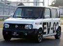 Начало тестовых испытаний нового электромобиля от Nissan